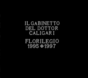 IL GABINETTO DEL DR. CALIGARI Florilegio 1995+1997 CD Digipack 2017 LTD.300