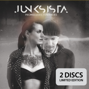 JUNKSISTA Promiscuous Tendendies LIMITED 2CD Digipack 2018