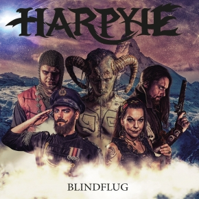 HARPYIE Blindflug (Re-Recorded) 2CD Digipack 2018