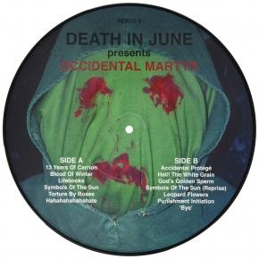 "DEATH IN JUNE Occidental Martyr 10"" PICTURE VINYL 2010 LTD.500"