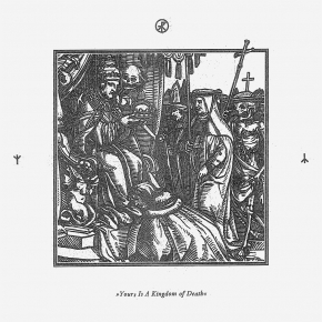 TREPANERINGSRITUALEN Yours is a Kingdom of Death LP WHITE VINYL 2018 LTD.300