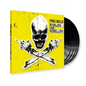 FREI.WILD Rivalen und Rebellen LIMITED 4LP GATEFOLD VINYL + MP3 CD 2018