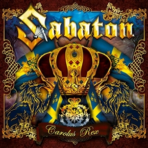 SABATON Carolus Rex (Swedish Version) CD 2012