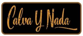 CALVA Y NADA 2x Aufnäher