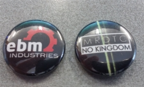 EBM Industries Schlüsselband/Lanyard + Button + MRDTC Button