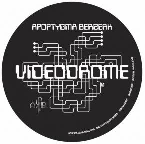 APOPTYGMA BERZERK Videodrome + APB Logo 2x Aufkleber