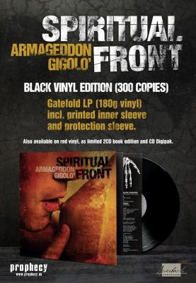 SPIRITUAL FRONT Armageddon Gigolo LP BLACK VINYL 2018 LTD.300