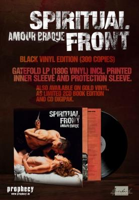 SPIRITUAL FRONT Amour Braque LP BLACK VINYL 2018 LTD.300