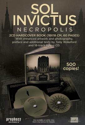 SOL INVICTUS Necropolis 2CD+BUCH 2018 LTD.500