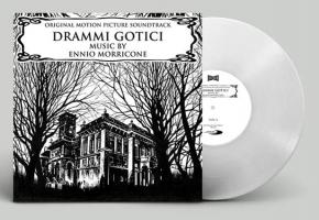 ENNIO MORRICONE Drammi Gotici LP WHITE VINYL 2018 LTD.500