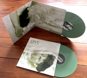 DIVE Grinding Walls 2LP GREEN VINYL 2018 LTD.550