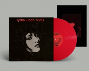 LYDIA LUNCH 13.13. LIMITED LP RED VINYL 2018
