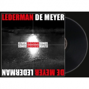 LEDERMAN - DE MEYER Eleven Grinding Songs LP VINYL+CD 2018 (VÖ 27.07) FRONT 242