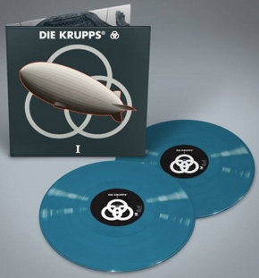 DIE KRUPPS I LIMITED 2LP BLUE VINYL 2018
