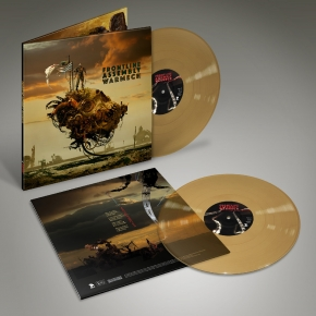 FRONT LINE ASSEMBLY WarMech LIMITED 2LP GREASY MESS VINYL 2018