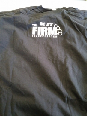 THE FIRM The Firm Logo T-SHIRT Grösse L
