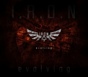 I.R.O.N Evolving CD Digipack 2013 LTD.300 IRON