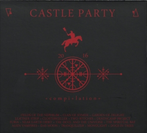 CASTLE PARTY 2016 LIMITED CD Alien Vampires CLAN OF XYMOX Fields Of The Nephilim