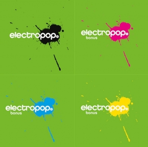 ELECTROPOP VOL.13 (Super Deluxe Fan Bundle) 4CD 2018 LTD.150 Parralox DISTAIN