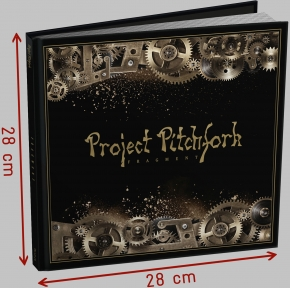 PROJECT PITCHFORK Fragment 2CD+BUCH EDITION 2018 LTD.2000