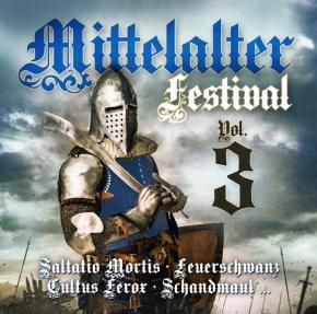 MITTELALTER FESTIVAL VOL.3 CD 2018 Feuerschwanz SCHANDMAUL Ignis Fatuu