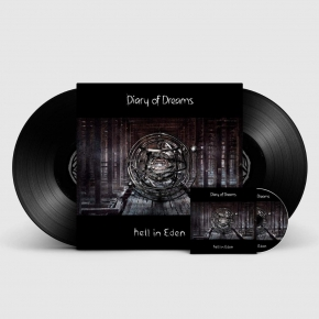 DIARY OF DREAMS Hell in Eden 2LP VINYL+CD 2018 LTD.500 (VÖ 12.10)