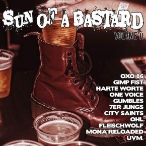 SUN OF A BASTARD VOL.11 CD 2018 Zaunpfahl HARTE WORTE