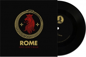 "ROME One Lion's Roar 7"" VINYL 2018 LTD.500"