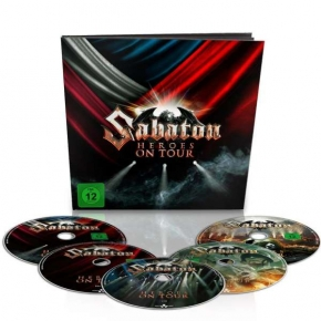 SABATON Heroes On Tour: Live 2015 (Limited Deluxe Earbook) 2BLU-RAY + 2DVD + CD 2016