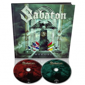 SABATON Heroes LIMITED 2CD EARBOOK 2014