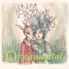 ORNAMENTAL 2CD Digipack Unto Ashes ERIK WOLLO Black Tape For A Blue Girl