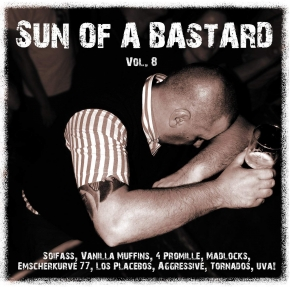 SUN OF A BASTARD VOL.8 CD 2015 Swiss & die Andern ENORM Piratenpapst