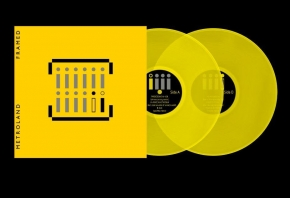 METROLAND Framed 2LP YELLOW VINYL+CD 2019 LTD.300