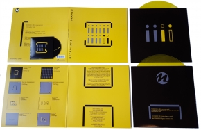 METROLAND Framed 2LP YELLOW VINYL+CD 2019 LTD.300
