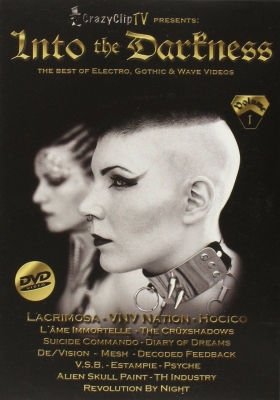 INTO THE DARKNESS VOL.1 DVD Lacrimosa VNV NATION Hocico