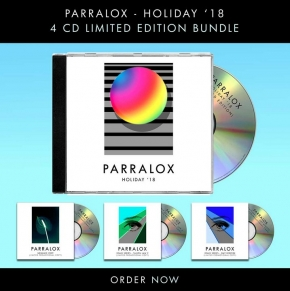 PARRALOX Holiday ´18 (Super Deluxe Fan Bundle) LIMITED 4CD SET 2018