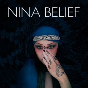 "NINA BELIEF Indigo/Cult of the Viper 7"" VINYL 2019"