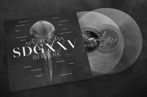 APOPTYGMA BERZERK SDGXXV 2LP Transparent VINYL 2019 LTD.700
