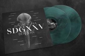 APOPTYGMA BERZERK SDGXXV 2LP Green/Black/Transparent VINYL 2019 LTD.300 (VÖ 19.04)