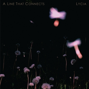 LYCIA A Line That Connects 2LP Deep Blue With Black Smoke VINYL 2019 LTD.500