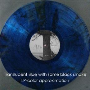 LYCIA A Line That Connects 2LP Translucent Blue With Black Smoke VINYL 2019 LTD.500