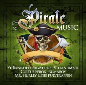 PIRATE MUSIC CD 2018 RUNNING WILD Dunkelschön FIDDLER'S GREEN Cultus Ferox