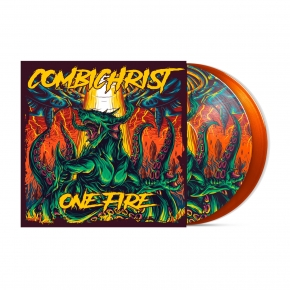 COMBICHRIST One Fire (Earthling Edition) LIMITED 2LP ORANGE PICTURE VINYL 2019 (VÖ 07.06)