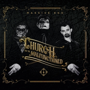 MASSIVE EGO Church For The Malfunctioned LIMITED 2CD Digipack 2019