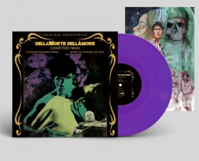MANUEL DE SICA Dellamorte Dellamore (Cemetery Man) Original Soundtrack LP PURPLE VINYL 2019 LTD.499