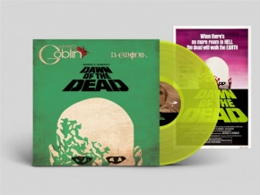 Claudio Simonetti's GOBLIN Dawn of the Dead LP TRANSPARENT LIME VINYL 2019 LTD.499
