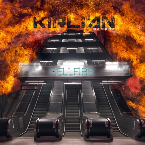"KIRLIAN CAMERA Hellfire 12"" BLACK VINYL 2019 LTD.300"