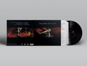 LONG NIGHT Barren Land LIMITED LP VINYL 2019