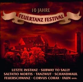 10 JAHRE FEUERTANZ FESTIVAL CD 2010 Omnia FAUN Saltatio Mortis FEUERSCHWANZ