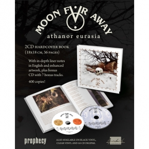 MOON FAR AWAY Athanor Eurasia 2CD+BUCH 2019 LTD.400